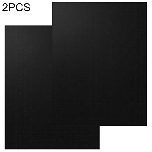 2/3/5 Stks Herbruikbare anti-aanbakplaat BBQ Grill Mat Pad Picknic Cook Barbecue Bakplaat - Zwart 2 stks