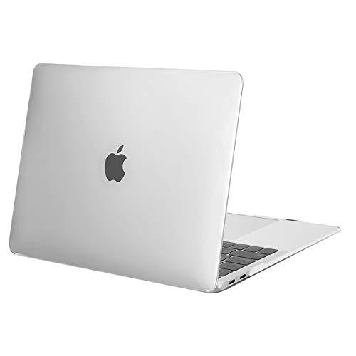 MOSISO Hülle Kompatibel mit 2020 2019 2018 MacBook Air 13 A2337 M1 A2179 A1932 Retina Display, Plastik Hartschale Case Cover Nur Kompatibel mit MacBook Air 13 Zoll mit Touch ID, Frost