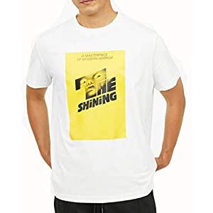 The Shining Vintage Retro White T-Shirt with Poster Design