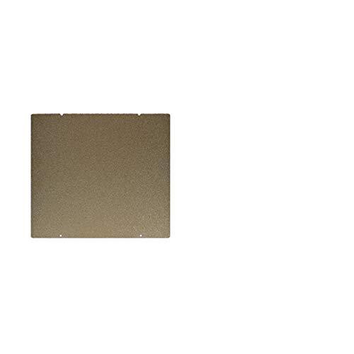 L-Yune,bolt 1pc for Prusa I3 MK3 MK52 Doppelseitiger Strukturierter PEI Federstahlblech pulverbeschichtet PEI BAU-Blatt for MK2.5S MK3 MK3S (Farbe : Gold, Größe : 253.8mmx241mm)