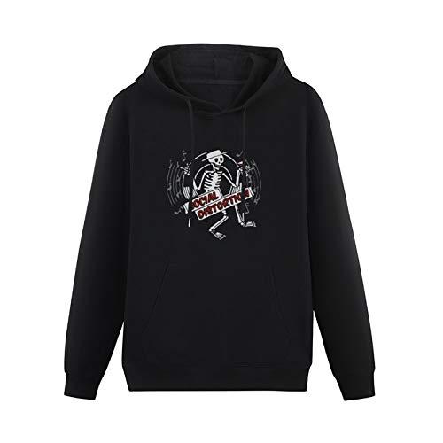 effek Skelly Disc Toddler Cotton Pullover Long Sleeve Sweatshirts Black M