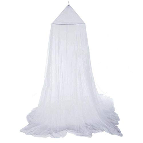 Round Baby Bed Mosquito Net 60 * 250 * 900cm Dome Hanging Cotton Bed Canopy Curtain Utility to Use in Summer