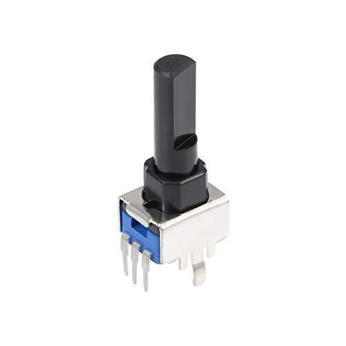 ロータリーエンコーダコードスイッチ3ピン16mm Dシャフトデジタルポテンショメータ
