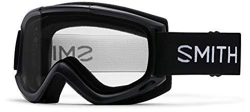 Smith Optics Adult Cascade Classic Snow Goggles Black Frame/Clear