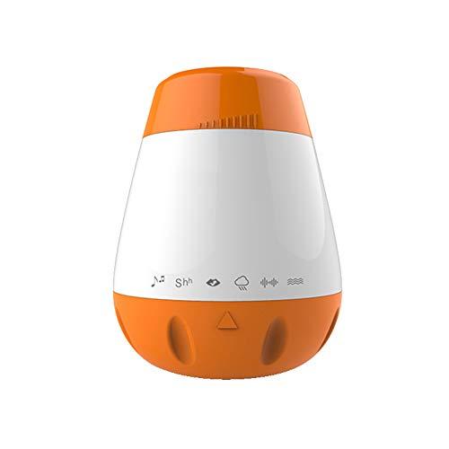 Sleep White Noise Machine, Huilen Sensor Autoplay, 6 Soothing natuurlijke geluiden Therapy Dream Machine voor de baby, volwassenen, Office, Ontspanning, USB Powered