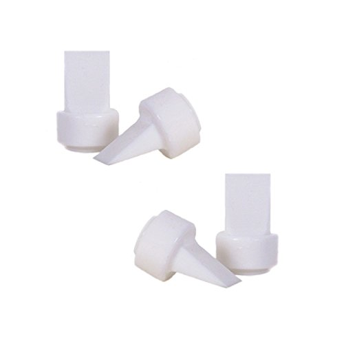 Maymom Pump Valves for Philips AVENT ISIS Breast Pumps; Duckbills to Replace Philips AVENT Valves Used in Manual, Single Electric Breastpump and Twin Electric Breast Pumps Valves (aka Avent Duckbills or Philips Valves or Avent ISIS Valves); 4 Pieces in Retail Package (Factory Sealed). by Maymom