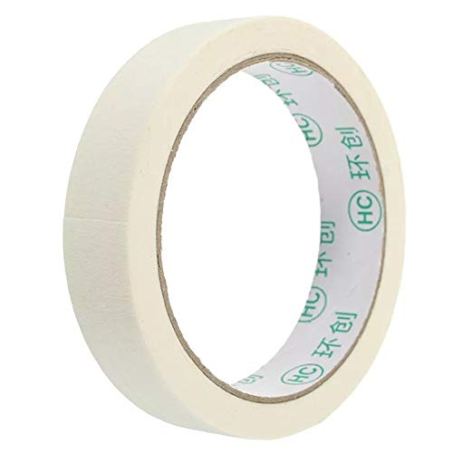 PIKA PIKA QIO Masking Tape Rollen lackierbar General Purpose Krepp-Klebeband 20m 2 Breiten Verpackungs Band (Farbe : #2)