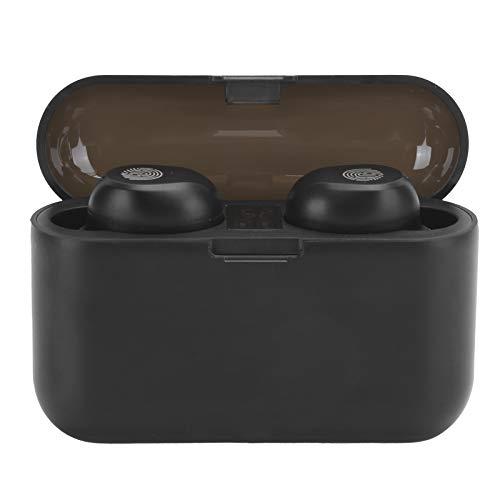 DAUERHAFT Auriculares estéreo Impermeables con Control táctil, para Deporte(X36 Black)