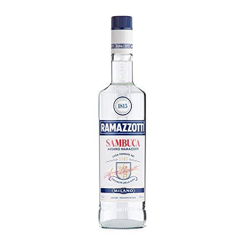 Ramazzotti Sambuca Likör – Italienischer Kräuterlikör aus Anis und Sternanis für einen vollmundigen und ausgewogenen Geschmack – 1 x 0,7 l