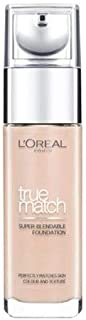 L'oreal True Match Foundation - 30 ml, N2 Vanilla