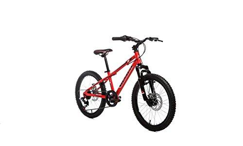 """Moma Bikes Bicicleta Infantil, Montaña GTT20"""", Alu, SHIMANO 6V. Doble Freno Disco, Susp. Delant."""