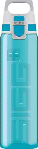 Sigg Viva One Aqua Cantimplora Infantil (0.5 L), Botella Transparente sin sustancias nocivas y con Tapa hermética, cantimplora para niños para Usar con una Mano