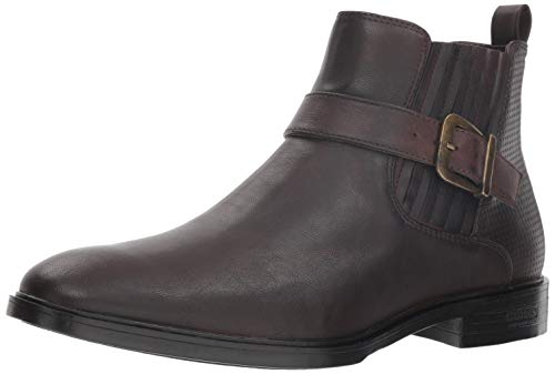 GUESS Men's CORIO Chelsea Boot Brown, 13 M US