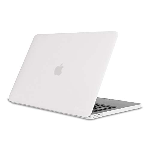 Fintie Hülle für MacBook Pro 13 (2019 2018 2017 2016 Freisetzung) - Ultradünne Plastik Hartschale Schutzhülle Snap Case für NEUESTE 13 Zoll MacBook Pro A2159 / A1989 / A1706 / A1708, Frost Klar