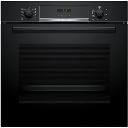 Bosch Serie 4 Five Function Electric Built-in Single Oven - Black