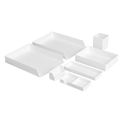 AmazonBasics Plastic Desk Organi...