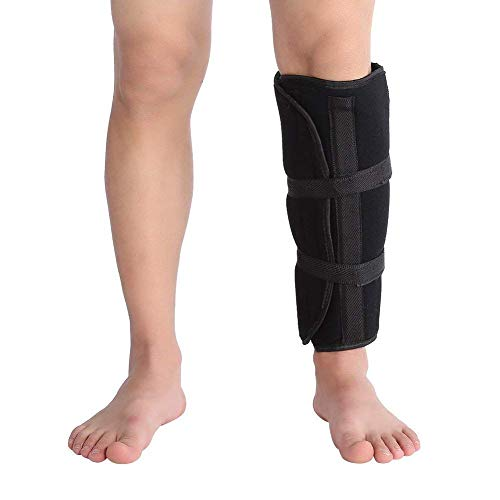 Shank Calf Support, Adjustable Tibia and Fibula Fracture Orthosis External Fixation Strap for Recovering Reduce Pains, Dislocations of Ligaments, Knee Joints, Calves
