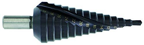 TIVOLY 11448720412 boor HSSE5 TiAlN conisch traploos spiraalboor zwart