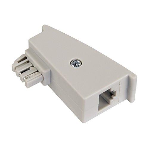 Hama DSL-Adapter für Fritzbox/TAE-Stecker/Kupplung