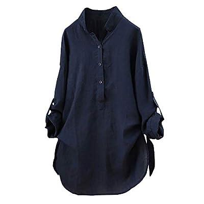 Snowfoller Women Plaid Shirts Fashion Turn-Down Collar Long Sleeve T-Shirt Side Button Decor Tunic Blouse Office Wear