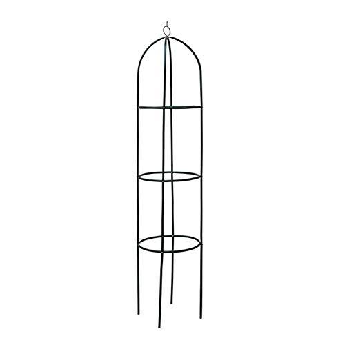 coil.c Rosenturm, Rankhilfe Obelisk Aus Metall, Rankhilfe Freistehend, Rankgerüst, Rankhilfe Für Rosen, Kletterpflanzen, Wetterfest, 194cm