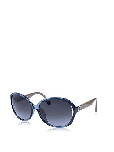 Fendi Sunglasses FF 0032/F/S 7Rb/9O-60-17-125 Occhiali da Sole, Blu (Blau), 60 Donna