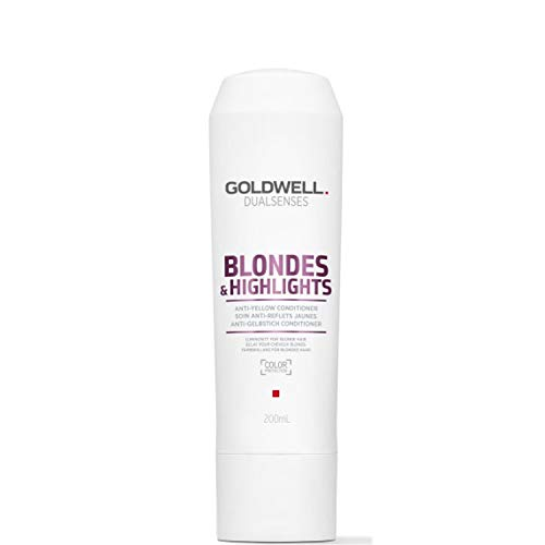 Goldwell Dualsenses Blondes & Highlights Anti Yellow Conditioner, 1er Pack (1 x 200 ml)