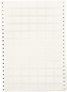 Brady DAT-83-502-10, 27283 Coated Cloth Labels with Permanent Adhesive