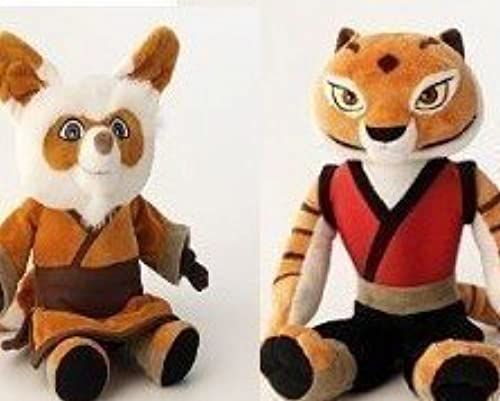 Kung Fu Panda Tigress and Shifu Set by Kung Fu Panda