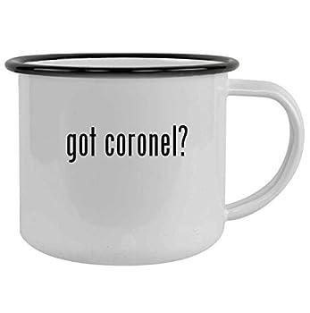 got coronel? - 12oz Camping Mug Stainless Steel Black