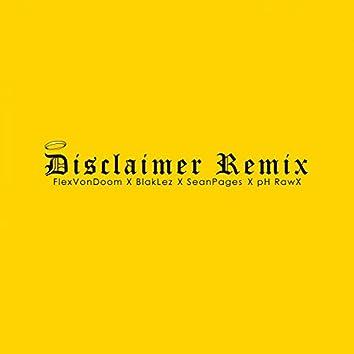 Disclaimer (Remix)