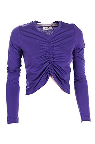 VICOLO T-shirt Donna Viola Uw0096 2/20 Autunno Inverno 2020/21