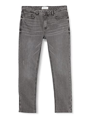 Springfield JEANS SLIM GRIS OSCURO LAVADO Pantalones, 36