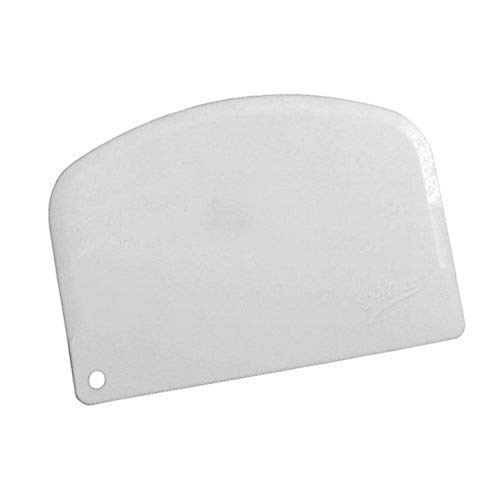 Ateco Scraper, Single Bowl, White