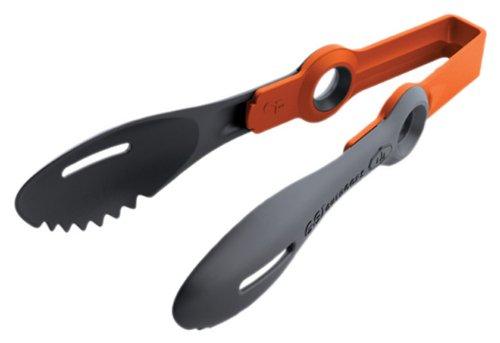 GSI Outdoors 74340 Pivot Tongs Orange, 8 inch