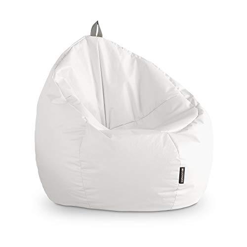 profesional ranking HAPPERS Puff Junior Piel Artificial Interior Blanco elección