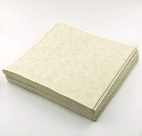 THE TABLECLOTH SHOP Cream Paper Table Covers x 25 by Dispo