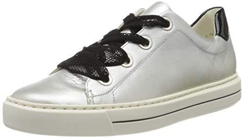 ara Damen COURTYARD Sneaker, Weiß (Weissgold, Schwarz 05), 38 EU(5 UK)
