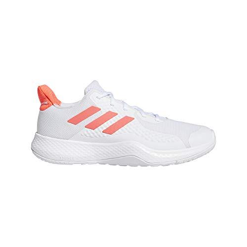 adidas FitBounce Trainer W, Zapatillas de Cross Training Mujer, FTWBLA/ROSSEN/NEGBÁS, 38 2/3 EU
