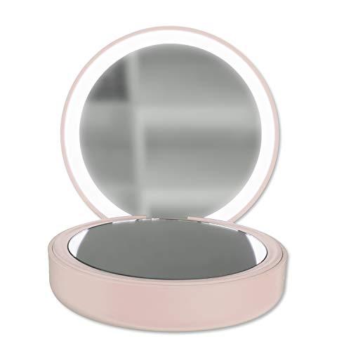 4smarts Powerbank PocketMirror 4000mAh, pink