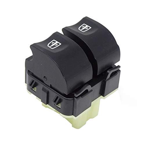 Vinciann Pulsanti interruttori tasti alzacristalli lato guida auto autovetture compatibile con codice OEM 254118044R e adatto a Captur compatibile con Clio IV e altri - RT8H