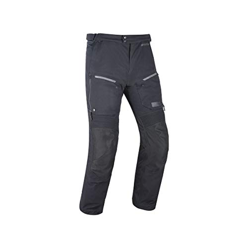 Oxford Mondial Advanced - Pantalones para moto, Tech Black Standard, extra-large