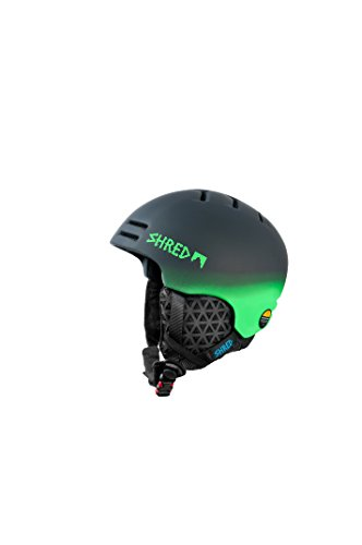 SHRED Sporthelm Slam-Cap Dark Fader, Green, L/XL, DHESLCF35