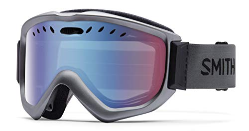 Smith Optics Knowledge OTG Snow Goggles (Graphite, Blue Sensor Mirror)