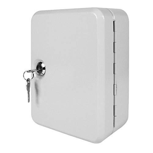 CDFD Sleutelkast Doos 20 Tags Fobs wandmontage Afsluitbare beveiliging Metalen kast Veilig voor Property Management Company