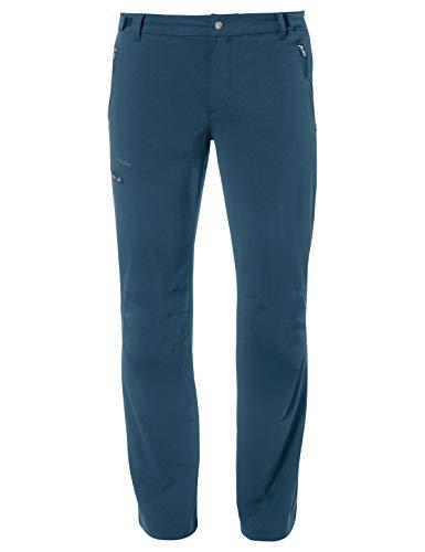 VAUDE Men's Farley Stretch Pants II, elastische Wanderhose Bas Homme, Baltic Sea, 52