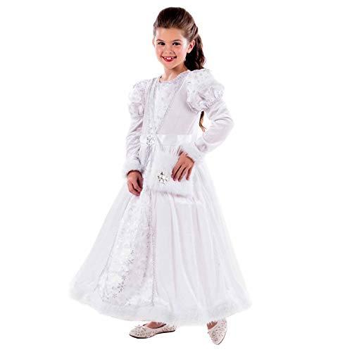 Fun Shack Weiß Prinzessinnenkleid Kostüm für Mädchen - Groß