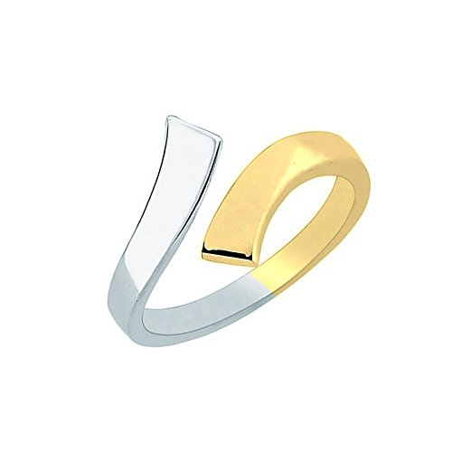 10k Two Tone Ring - 9