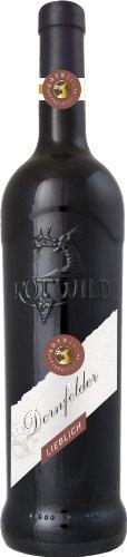 Rotwild Dornfelder Qualitätswein lieblich Pfalz (6 x 0.75 l)