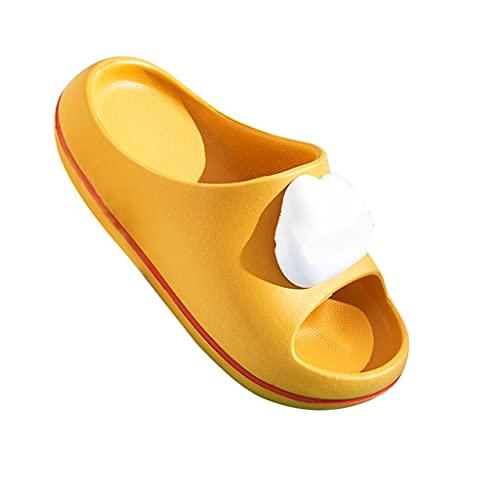YXCKG Zapatillas Suaves, Chanclas Zapatos De Playa Y Piscina, Sandalias Y Zapatillas, Zapatillas De Baño para Niños Niñas, Zapatillas De Punta Abierta, Zapatillas Amortiguadoras